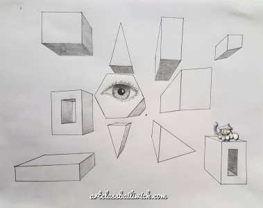 One Point Perspective The Prism Art Class Bailiwick